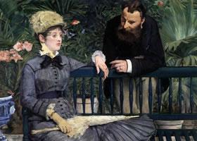 爱德华马奈的油画人物肖像代表作品