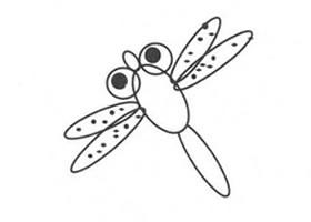 小蜻蜓的画法