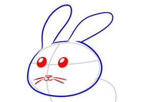 兔子简笔画,如何画兔子