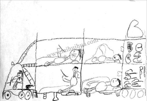 孩子你在画什么 - 《返乡巴士》