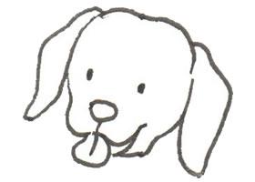 卡通小狗的画法