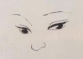 少女的国画画法