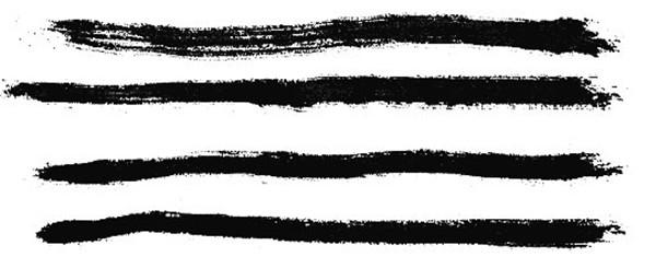 中国国画基础笔法:逆笔