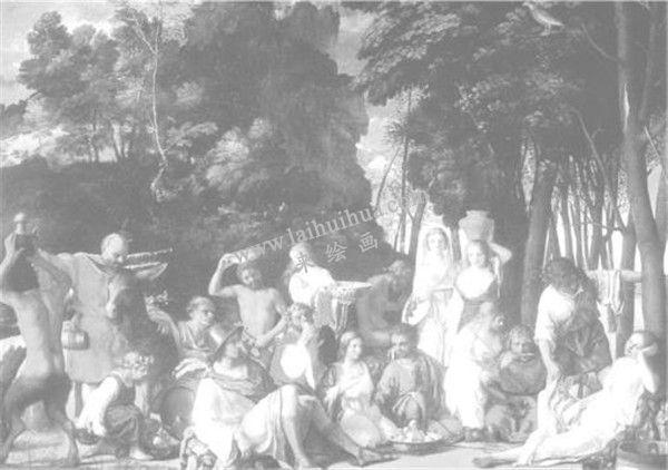 乔凡尼·贝利尼《众神聚宴》