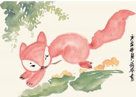 小狐狸的国画画法