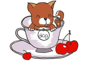 卡通画茶杯犬的画法