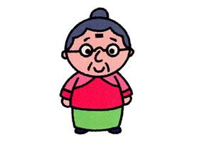 奶奶简笔画画法步骤图解