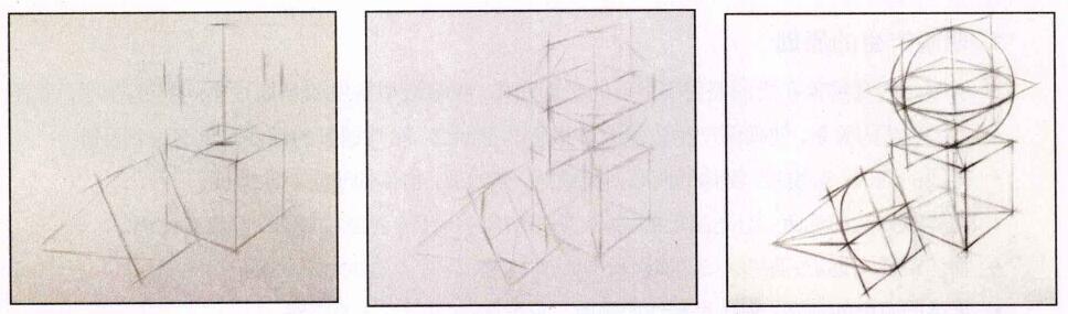 结构素描写生步骤
