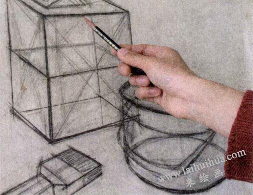 素描的执笔方法