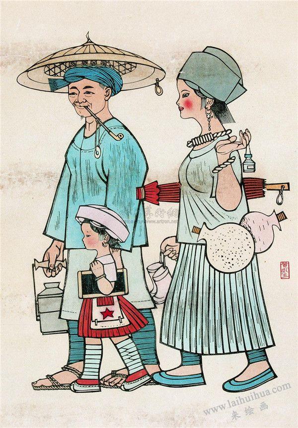 中国古代插画 01