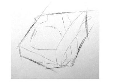 划分比例   插画的作画步骤二