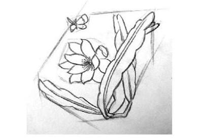 刻画细节  插画的作画步骤三