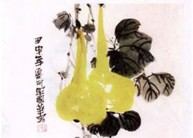 葫芦水墨画画法步骤