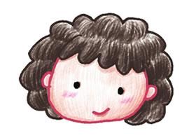 阿姨色铅笔简笔画画法