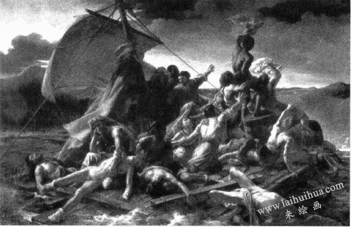 《梅杜萨之筏》