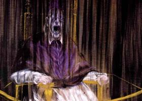 培根《教皇英诺森十世肖像》人物油画