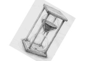时间沙漏素描(一)