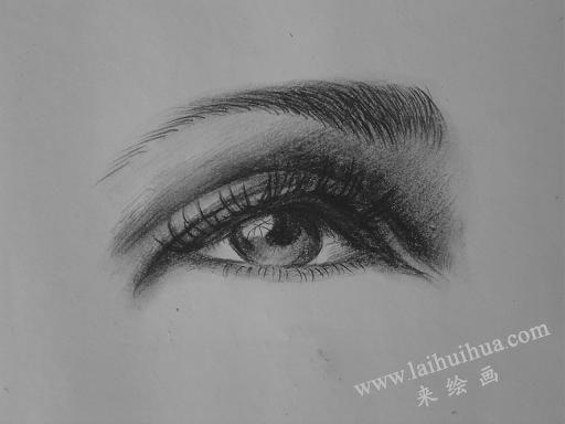 素描中眼睛的画法