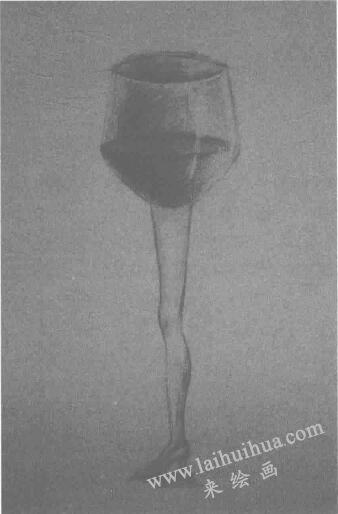 设计素描:高脚杯