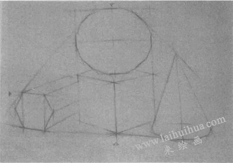 多个几何体绘制步骤:起形