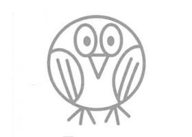 黄鹂的简笔画画法
