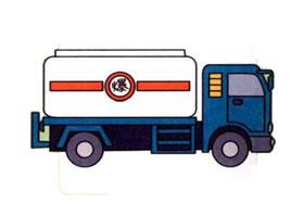 油罐车的画法