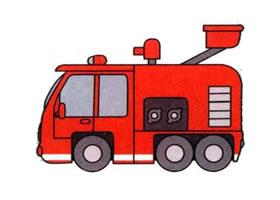 消防车的画法