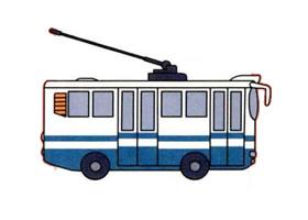电车的画法