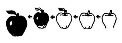 苹果的画法