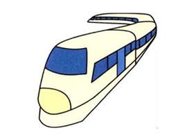磁浮列车的画法