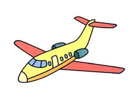 客机的画法