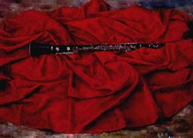 《红色乐章》油画画法
