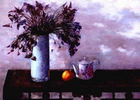 《秋思》油画画法