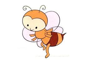蜜蜂儿童画
