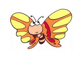 蝴蝶儿童画