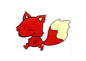 狐狸儿童画