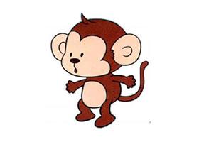 猴子儿童画法(一)