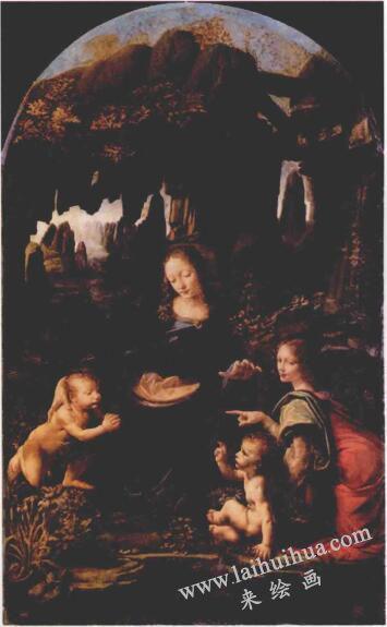 达•芬奇名作〈岩间圣母〉