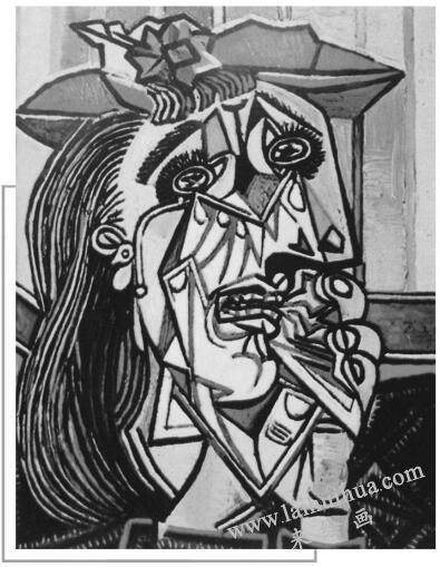 哭泣的女人,毕加索