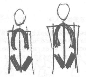 利用草图绘制人体02