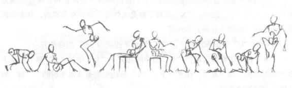 利用草图绘制人体03