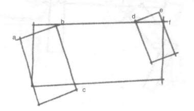 动物体形:两个矩形