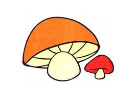 蘑菇儿童画