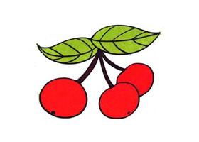 樱桃儿童画