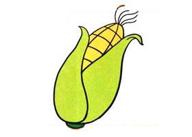 玉米儿童画
