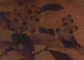 《枇杷山雀图》赏析