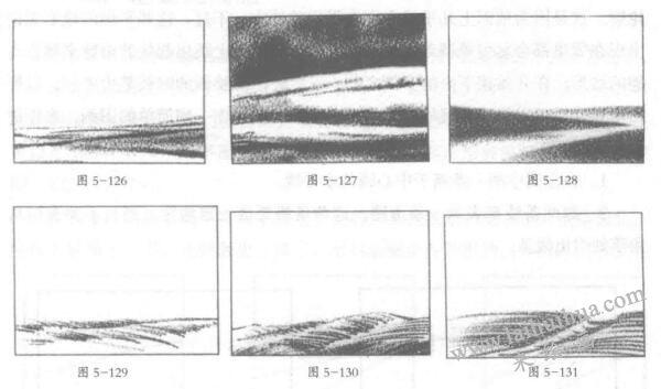 素描叫画面基线,风景素描