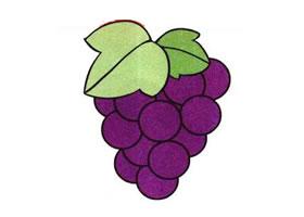 葡萄儿童画