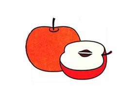 苹果儿童画