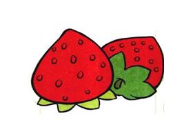 草莓儿童画